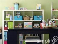 craft room organization project