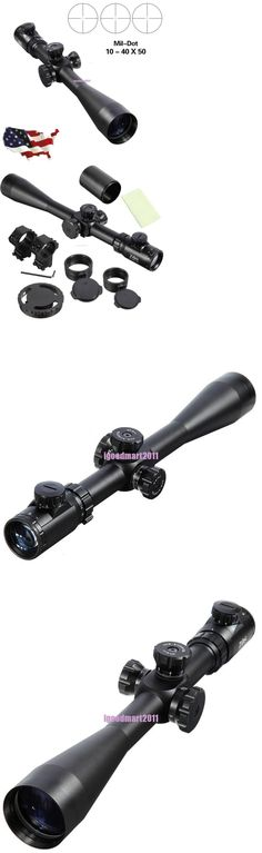 Other Hunting Scopes and Optics 7307: 10-40X50 Esf Ir Rifle Optics Scope Tactical Riflescope Mil-Dot Reticle Hunting -> BUY IT NOW ONLY: $84 on eBay!