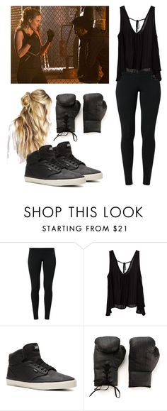 """Cami / camille o'connell sport outfit - the originals"" by shadyannon ❤ liked on Polyvore featuring NIKE, Vans and Elisabeth Weinstock"