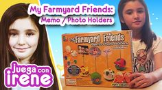 ♥ Juega con IRENE ♥ My Farmyard Friends: Memo / Photo Holders