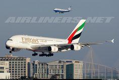 Emirates Airbus A380-861