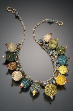 Beaded Beads On Chain