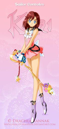 Sailor Consoles Kairi