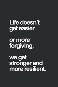 ...Get stronger and More resilient