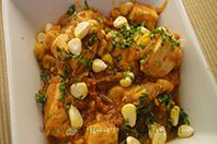 Corn And Paneer Sabzi: Corn and paneer cooked together to make a delightful sabzi.
