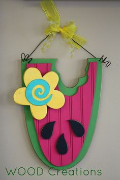 Hanging watermelon--available online and in the store.