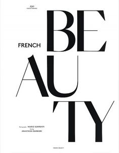 Louis Garrel is a 'French Beauty' for Vogue Hommes Paris Fall/Winter 2014 Cover Story - Trend Großartiges Design 2019 Fashion Typography, Creative Typography, Typography Quotes, Typography Letters, Typography Poster, Graphic Design Typography, French Typography, Vintage Typography, Louis Garrel