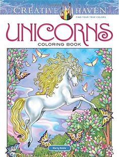 Creative Haven Unicorns Coloring Book Adult Do