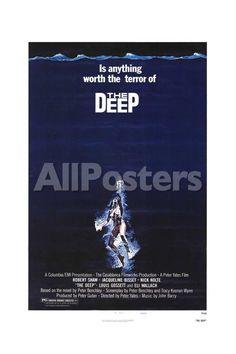 The Deep Movies Art Print - 30 x 46 cm