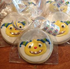 Henry Hugglemonster 4th Birthday Parties, 1st Birthdays, 2nd Birthday, Birthday Ideas, Henry Hugglemonster, Ideas Para Fiestas, Gingerbread Cookies, Masons, Vernon