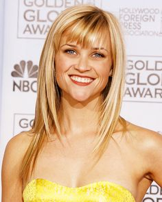 Reese Witherspoon at the 2007 Golden Globes.