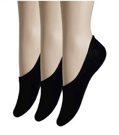5 Pairs Women Cotton Blend No Show Low Cut Socks Silicon Tab Casual Size 9-11