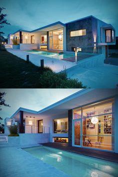 Damilano Studio Architects - Casa D   via designedinteriors