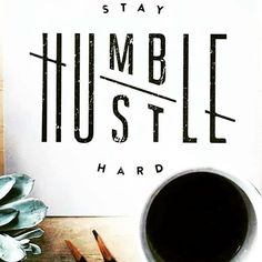 """Hustling over here! Big changes  new opportunities and dreams coming true!  Isn't it cool that """"Humble"""" and """"Hustle"""" only have a diffence of 2 letters??! Seriously LOVE this saying from @jennetliaw !!  Gorgeous work girl!  I think when you work hard and hustle you know how much work it takes to become successful. Failure obstacles early mornings dedication commitment and self motivation are keys to success and I think those will definitely keep you humble!! Happy Monday friends!!!  Keep up…"""