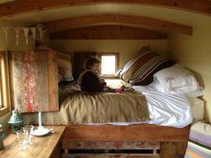 Corbie Shepherds Hut is here! | Wild Northumbrian Tipis and Yurts