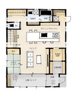 Sims 4 House Plans, Sims House, Small House Plans, House Floor Plans, Apartment Layout, Apartment Plans, Japan Room, Minimal House Design, Japanese Apartment