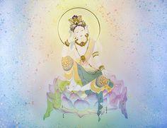 弥勒菩薩-現代美術絵画・草場一壽陶彩画の世界
