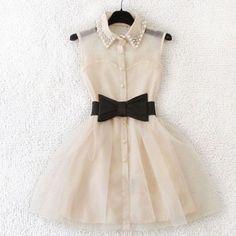 Elegant Bowknot Dress