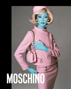 Soo Joo Park fronts Moschino's fall-winter 2018 campaign