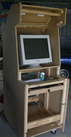 All CNC machined arcade cabinet kit   MAME Cabinet Ideas ...
