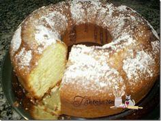Bolo de Limão I Bolos Low Carb, Bagel, Doughnut, French Toast, Bread, Banana, Breakfast, Desserts, Food