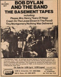 1000 images about the basement tapes on pinterest the