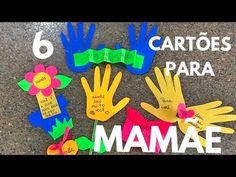 6 CARTÕES PARA MAMÃE ♡ - YouTube