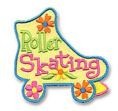 AHG Activity Patches: Roller Skating Fun Patch