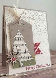 Love this card!  It's made using the new Perfect Pines framelits and all sorts of other Holiday Catalof Sneak peeks by Kristin Kortonick #stampinup