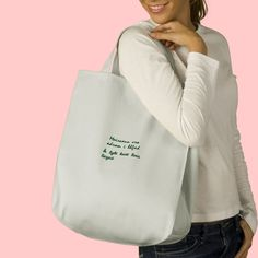 "Irish saying in the Irish language or put your own design/text on this bag!  A perfect Mother's Day gift!  Durable 12 oz cotton twill, it has a wide bottom and reinforced cotton web handles. Styles include 100% organic cotton (You mush select ""Organic"" as your color.). 13""w x 15.5""h x 7""d ."