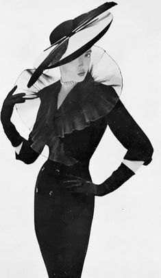 "If you know anything about me you""ll know this is my style all the way . Vogue UK 1950"