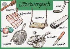 Garden Tools, Language, Luxembourg, Art, Yard Tools, Languages, Outdoor Power Equipment
