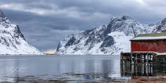 "The Glory Days have Passed - The beautiful ""Kirkefjorden"" fjord outside Reine in Lofoten, Norway. A remote fjord inlet, where there is only 1 permanent resident, where before this was a buzzing fishery. Lofoten, Norway, Mount Everest, Remote, The Outsiders, Mountains, Day, Nature, Travel"