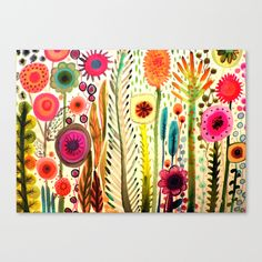printemps Canvas Print by Sylvie Demers - $85.00