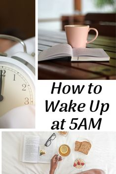 Wake Up Early - How to Wake up at 5am! This seriously changed my life! #5am #wakeupearly