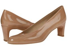 A classic nude pump can be a great investment when put to the price-per-wear test.  Stuart Weitzman is pricey but it is a quality shoe that will be worn for years, comes in a size 4 and many women find comfortable.