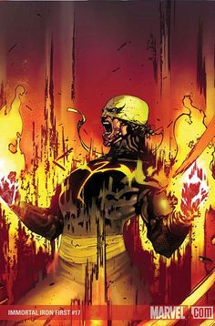 IMMORTAL IRON FIST I