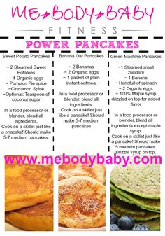 ABS ARE MADE IN THE KITCHEN FIRST:)   These are a quick and healthy way to start your day!