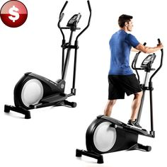 Elliptical Exercise Machine Indoor Fitness Cardio Trainer Home Gym Equipment