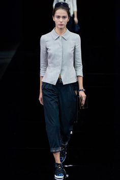 Emporio Armani Spring 2015 Ready-to-Wear - Collection - Gallery - Look 2 - Style.com