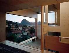 Könz Molo - Suspended house, Lugano Via, photos © Walter Mair. Lugano, Balconies, Switzerland, Windows, Architecture, Photos, House, Home, Patio