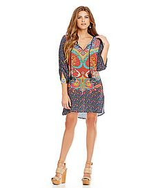 Gibson and Latimer Moroccan Dress #Dillards | The Style of Prints ...