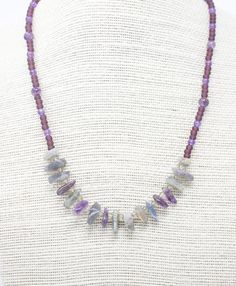 New in our shop! Amethyst and Labradorite Necklace, Boho Style Necklace, Purple Seed Bead Layering Necklace, Healing Gemstone https://www.etsy.com/listing/500319160/amethyst-and-labradorite-necklace-boho?utm_campaign=crowdfire&utm_content=crowdfire&utm_medium=social&utm_source=pinterest