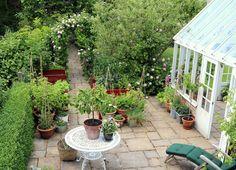 Trädgårdstid: växthus