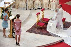 Charlene Wittstock - Monaco Royal Wedding - The Religious Wedding Ceremony