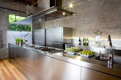 stainless steel Boffin kitchen