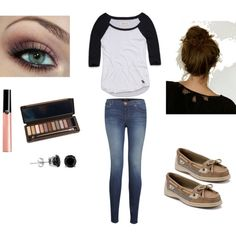 """School outfit"" by emily-pena on Polyvore"