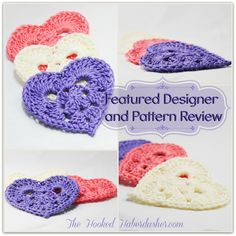 Featured Designer Free Pattern Review The Hooked Haberdasher
