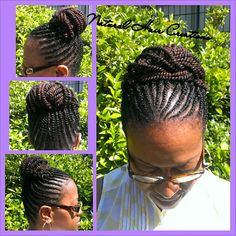 Photo by natural_hair_creations kinky flat twists