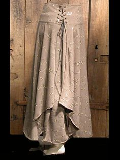 medieval, renaissance clothing - woman skirt - Julianne - Anne Larochelle
